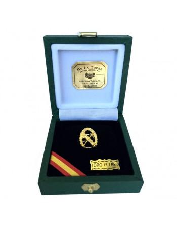 Pin Solapero Oro de Ley 'Haz de Lictores'