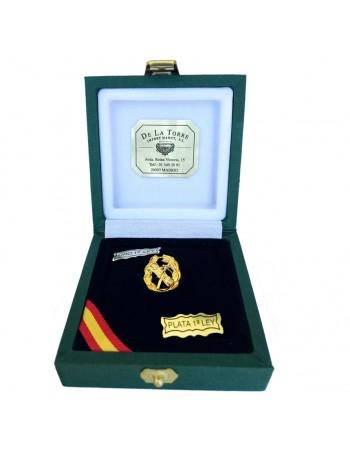Pin Laureado Oro de Ley 'Haz de Lictores'